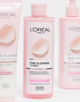 L'Oreal Fine Flowers Cleansing Toner-No colour