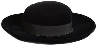 Chanel Runway Velvet Wide Brim Hat (Size 57, Never Worn)