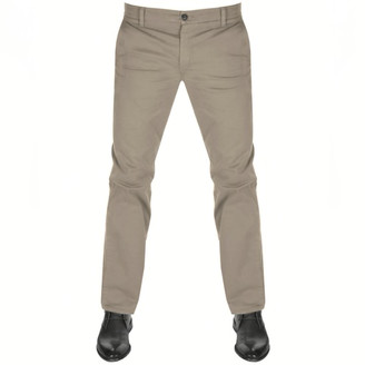 Boss Casual BOSS Schino Regular D Chinos Brown