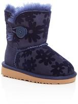 UGG Girls' Bailey Button Flowers Boots - Walker