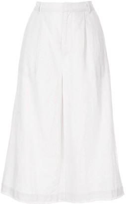 Sea Cropped Trousers