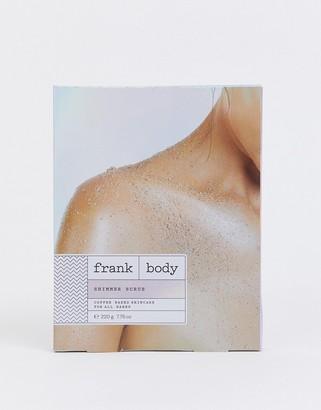 Frank Shimmer scrub 220g-No Color