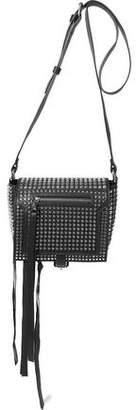 McQ Loveless Small Studded Leather Shoulder Bag