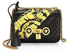 Versace Women's Medium Icon Quilted Leather Shoulder Bag