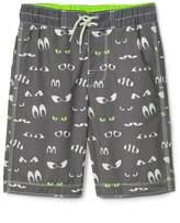 Gap Spooky eyes board shorts