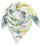 Echo Women's Floral Silk Square Scarf