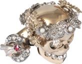 Alexander McQueen Marie Antoinette Small Ring