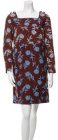 Tory Burch Floral Patterned Shift Dress
