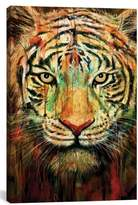 iCanvas 'Tiger II' Giclee Print Canvas Art