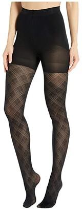 Magic Body Fashion MAGIC Bodyfashion Incredible Legs Shaping Tights (Black Diamond) Women's Underwear