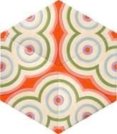 Kinder GROUND Hexagon Carpet - Owl Eyes (3 piece Diamond)