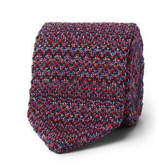 Missoni 6cm Crotchet-Knit Cotton And Silk-Blend Tie