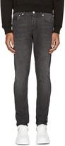 Alexander McQueen Black Faded Jeans