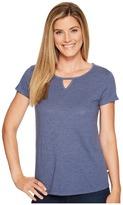 Toad&Co - Palmilla Cut Out Short Sleeve Tee Women's T Shirt