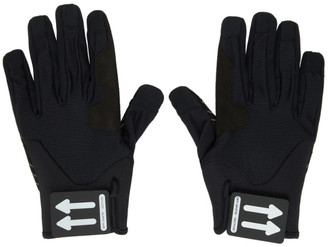 Off-White Black Active Gloves