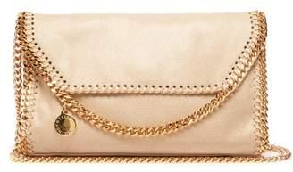 Stella McCartney Falabella Mini Faux Suede Cross Body Bag - Womens - Cream