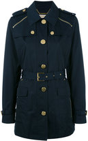 MICHAEL Michael Kors zipped shoulder coat