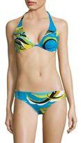 Emilio Pucci Fiore Maya Printed Underwire Bikini Set