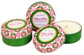 Seda France Sugar Blossom Lime Large Travel Travel Candles (4 OZ) (Set of 3)