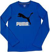Puma No. 1 Logo Long Sleeve T-Shirt (4-7)