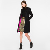Paul Smith Women's Black Wool-Cashmere Epsom Coat