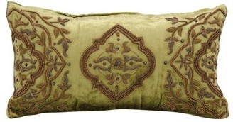 Clayton Astoria Grand Wire Embroidery Lumbar Pillow Astoria Grand
