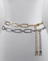 MICHAEL MICHAEL KORS Rectangular Chain-Link Belt
