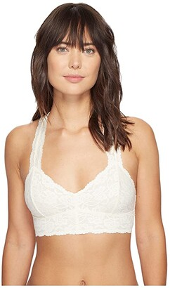 Free People Galloon Lace Racerback (Black) Women's Bra