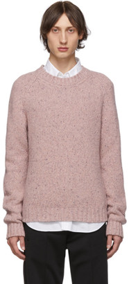 Maison Margiela Pink Wool Gauge 3 Sweater