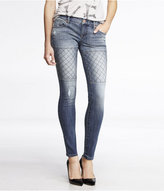 Express Stella Quilted Jean Legging