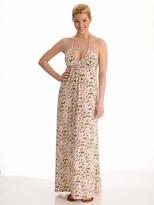 Scoop Halter Maxi Dress