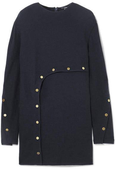 Derek Lam Embellished Jersey Tunic - Navy