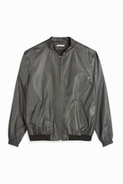 Paul & Joe Waxed-Effect Bomber Jacket