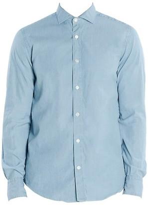 Eleventy Cotton Chambray Shirt