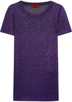Missoni Metallic Knitted Top - Purple
