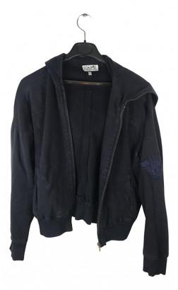 Hermã ̈S HermAs Black Cotton Knitwear
