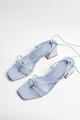 Topshop NIKITA Blue Strap Sandals