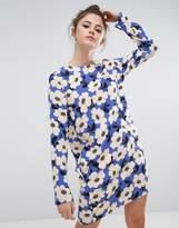 Sportmax Code Shift Dress In Bold Floral Print