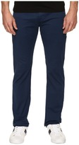AG Adriano Goldschmied Matchbox Slim Straight Twill Pants in Nocturnal