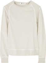 T by Alexander Wang Cotton-terry sweatshirt