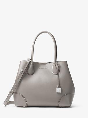 Michael Kors Mercer Gallery Medium Pebbled Leather Tote Bag
