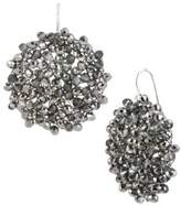 Kenneth Cole New York Black Diamond-Crystal Woven Drop Earrings