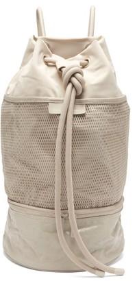 adidas by Stella McCartney Gym Sack Canvas Shoulder Bag - Grey
