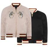 Chloé ChloePink & Black Reversible Satin Jacket