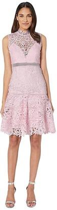 Bardot Elise Lace Dress (Washed Pink) Women's Dress