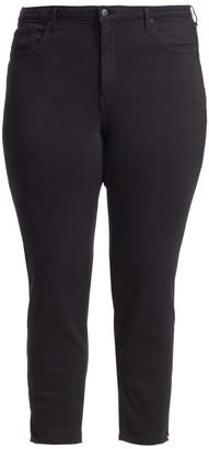 Nydj, Plus Size Ami Side-Slit Skinny Ankle Jeans