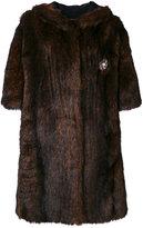 Faith Connexion faux fur coat