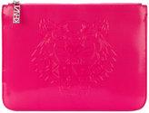 Kenzo Tiger clutch bag - women - Polyurethane - One Size