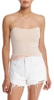Alexander Wang Strappy Stretch Jersey Tank, Blush