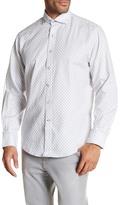 James Campbell Linfield Printed Long Sleeve Woven Shirt